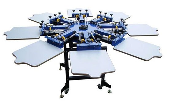 screen printing machine at home
