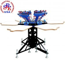 manual screen printing press