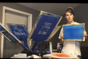 Eight Super Guides for T-shirt Screen Printing Machine Users