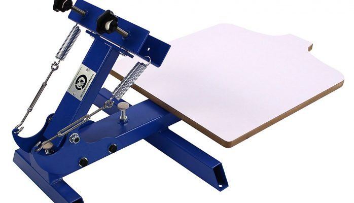 1 Color 1 Station T-shirt Silk Screen Printing Machine