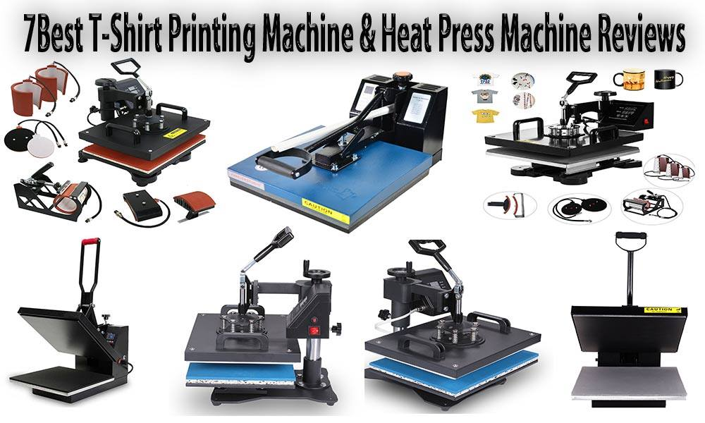 best t-shirt printing machine & Heat Press Machine Reviews