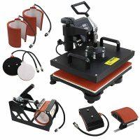 F2C Pro 5 in 1 Combo Heat Press Machine