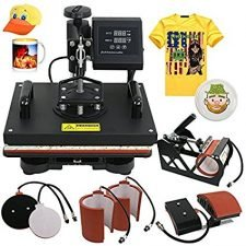 digital t-shirt screen printing machine heat press