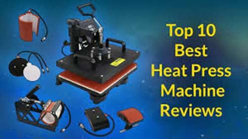 10 Best Heat Press Machines Reviews