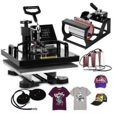best digital t-shirt printer Mophorn Heat Press Multifunction Sublimation Heat Press Machine.