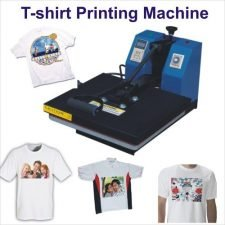 screen printing vs heat press- tshirt screen printing machine