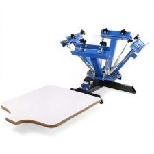 VEVOR Silk Screen Printing Machine 4 Color 1 Station Screen Printing Equipment