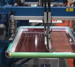 screen tension Screen Printing Machine