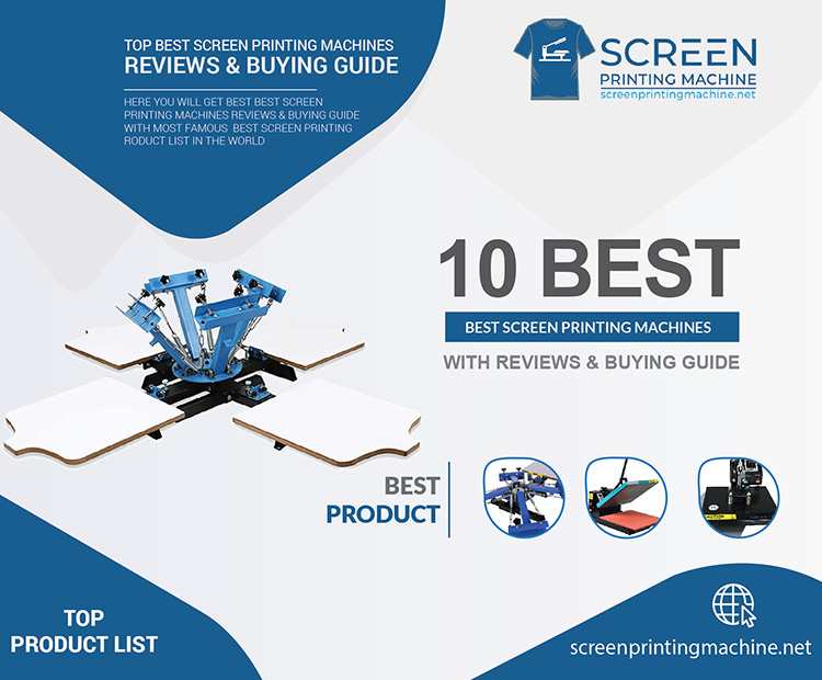 7f693e6bdcd 5 Best Screen Printing Machine Reviews   Buying Guides