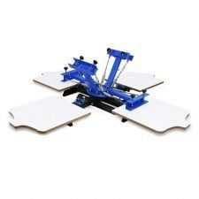Maxwolf (4 Color 2 Station ) T-shirt Screen Printing Machine Cheap Screen printing Machine