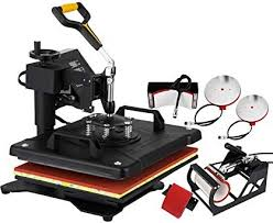 Mophron Heat Press 5 in 1 Multifunction Sublimation
