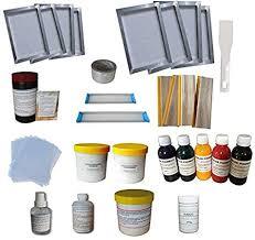 Simple bundle screen printing kit