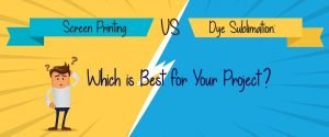 Screen Printing vs Sublimation What's Best for shirts, Hats & logos