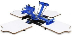 VEVOR Screen Printing Machine 4 Color 1 Station Screen Printing Equipment for Shirts