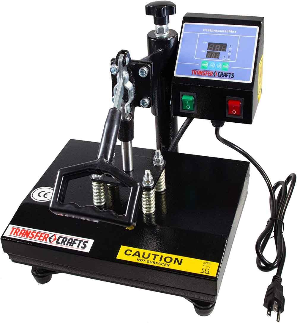 Transfer Crafts T-Shirt Heat Press & Digital Sublimation Machine (9 x 12