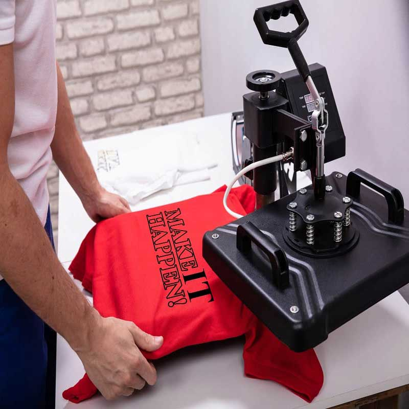 How much does a heat press machine cost?